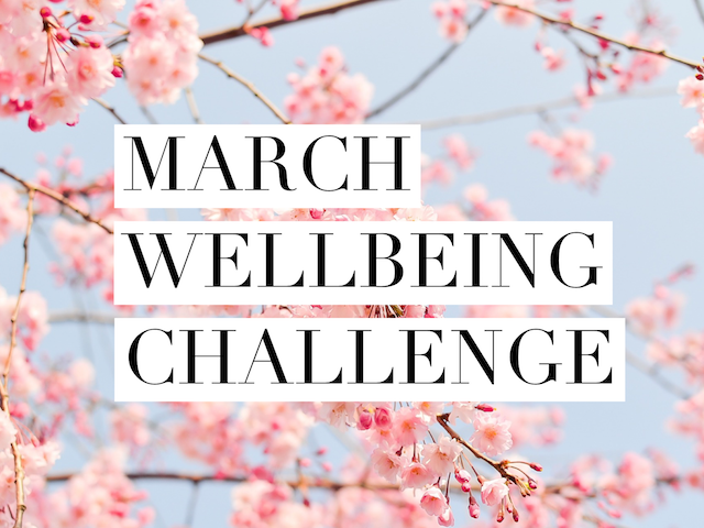 March Wellbeing Challenge