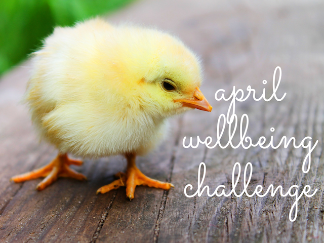 April Wellbeing Challenge