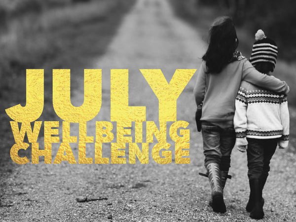July Wellbeing Challenge