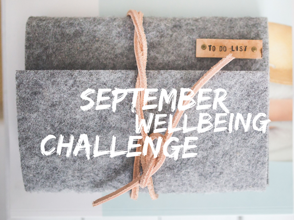 September Wellbeing Challenge