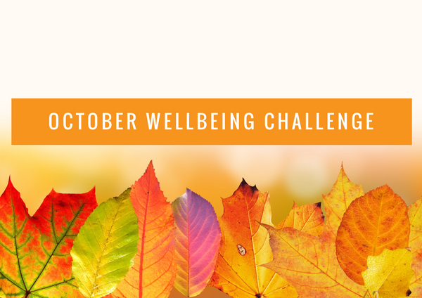 October Wellbeing Challenge