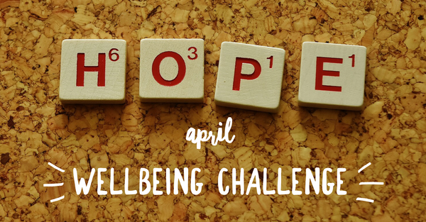 April Wellbeing Challenge 2018