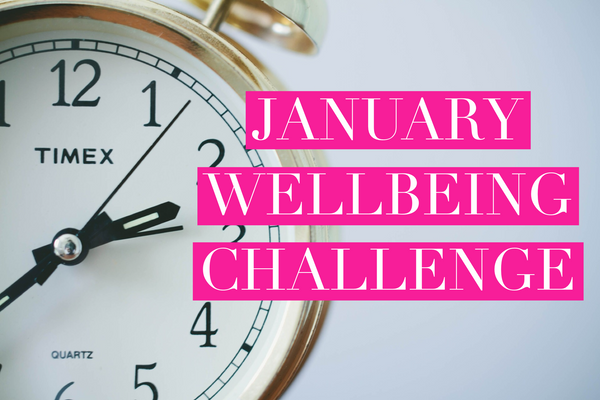 January Wellbeing Challenge 2018