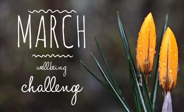 March Wellbeing Challenge 2018