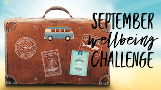September Wellbeing Challenge 2018
